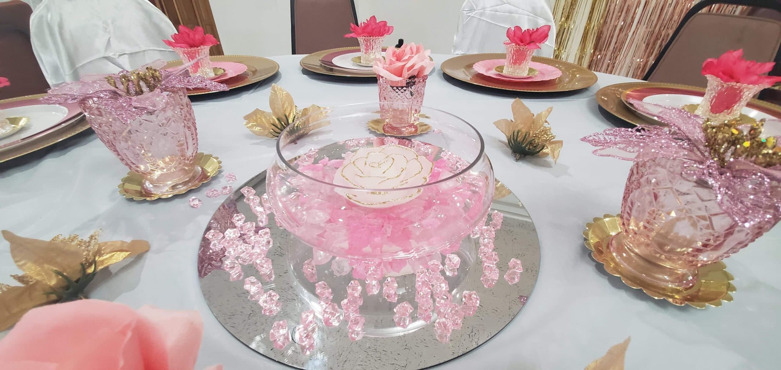party gear beautiful centerpieces decorate