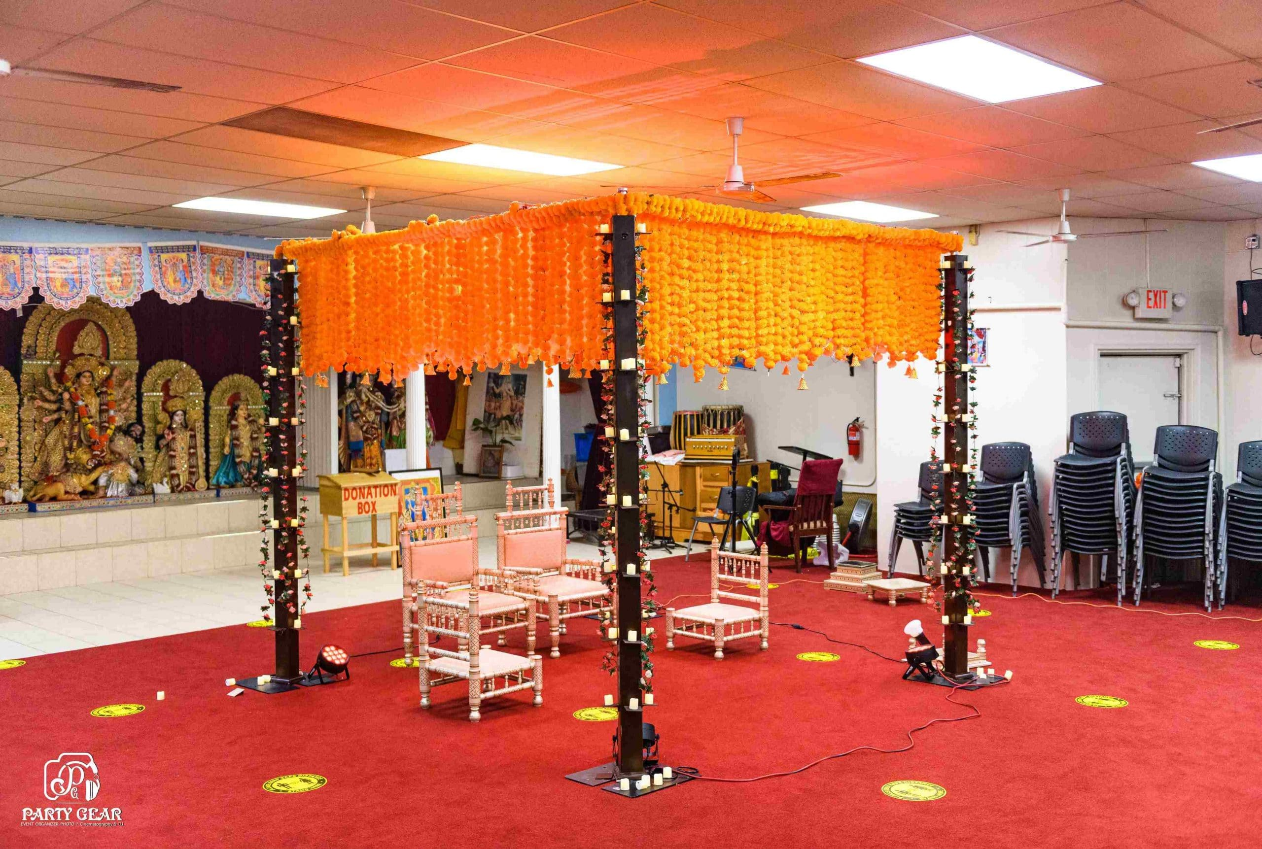 Beautiful Wedding Mandap Stages Decoration