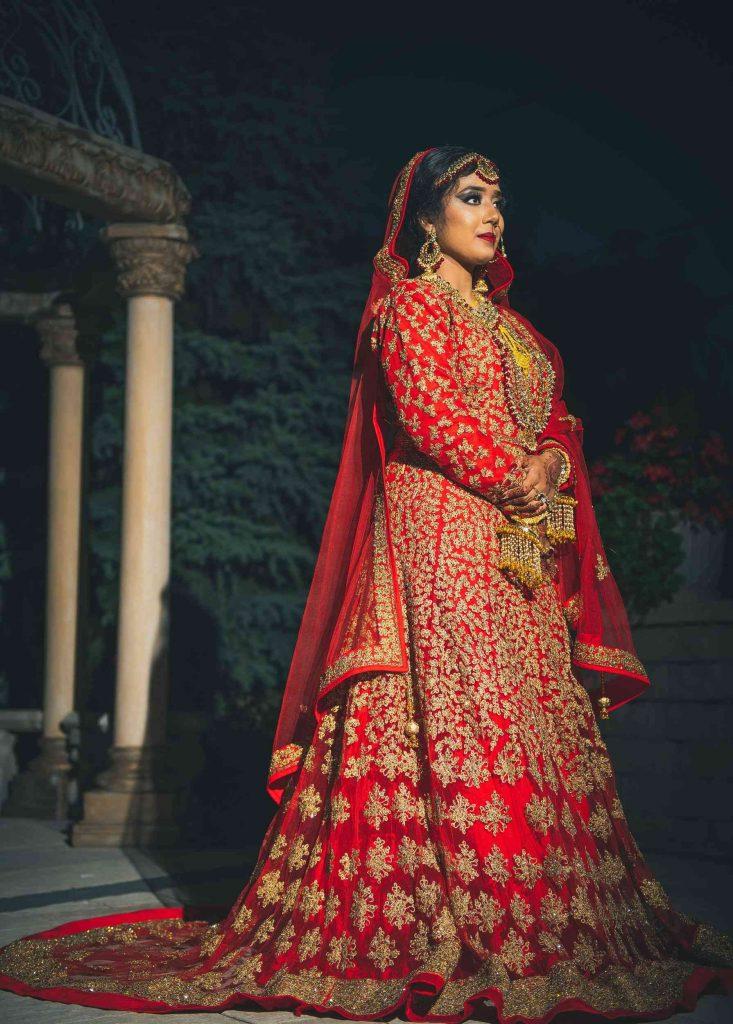 Beautiful bride Wedding Photoshoot