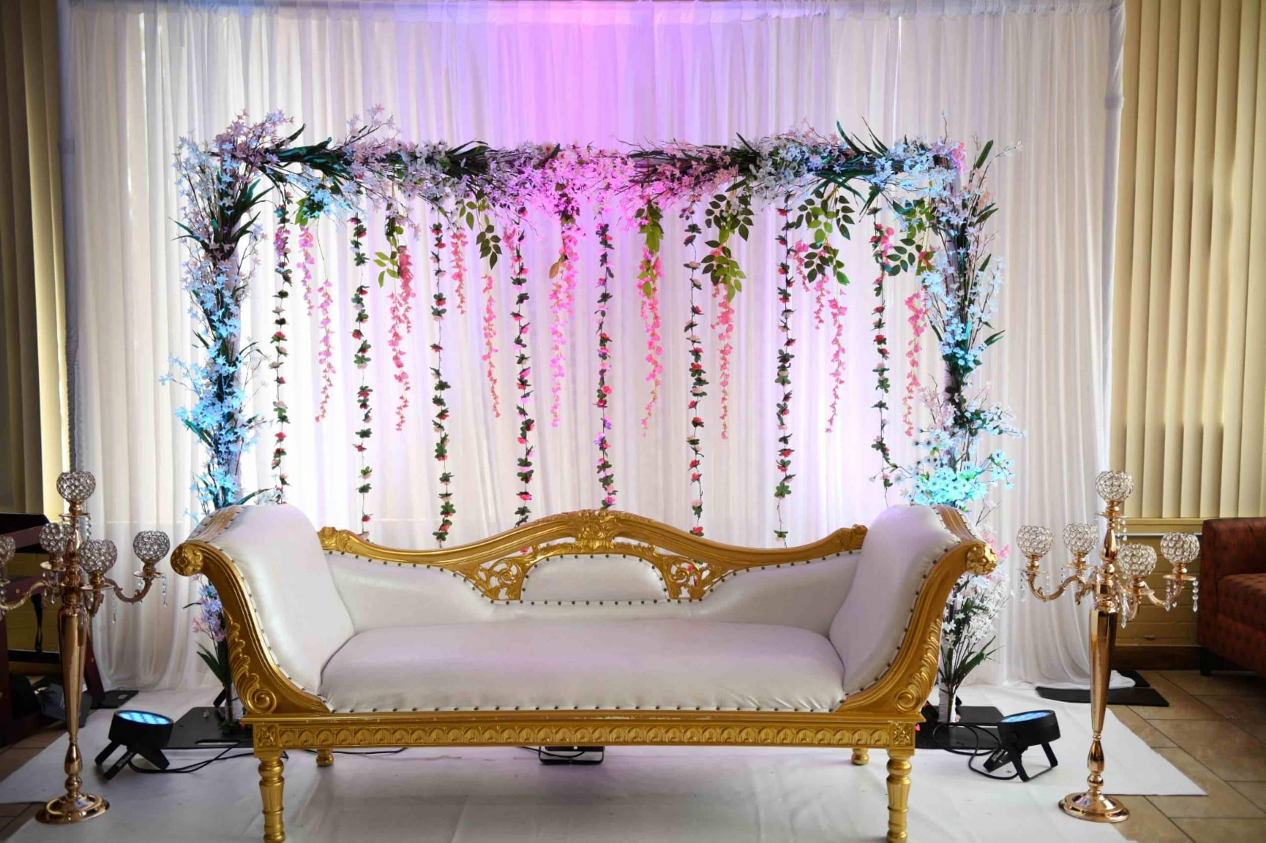 Beautiful Wedding Stages Decoration