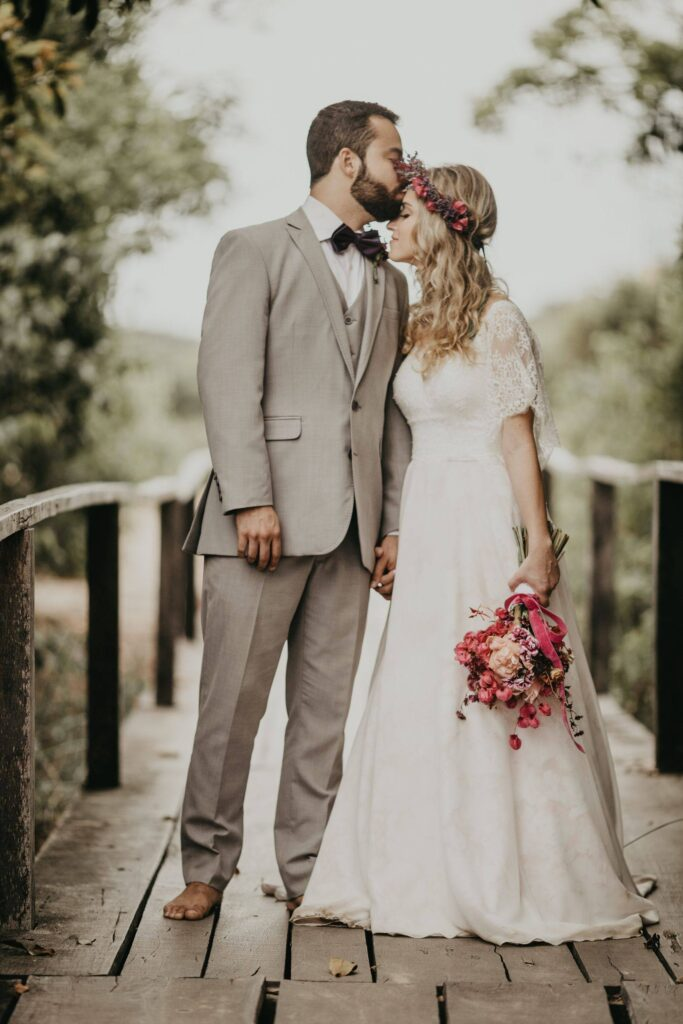 Outdoor wedding Videography Picture