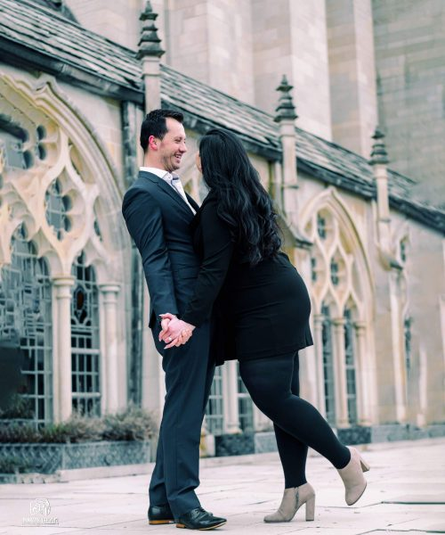 outdoor proposal photography